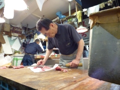 decoupage poisson tsukiji