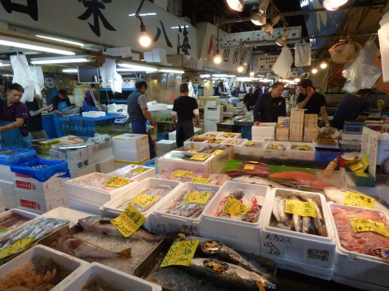 le plus grand marché du monde Tsukiji