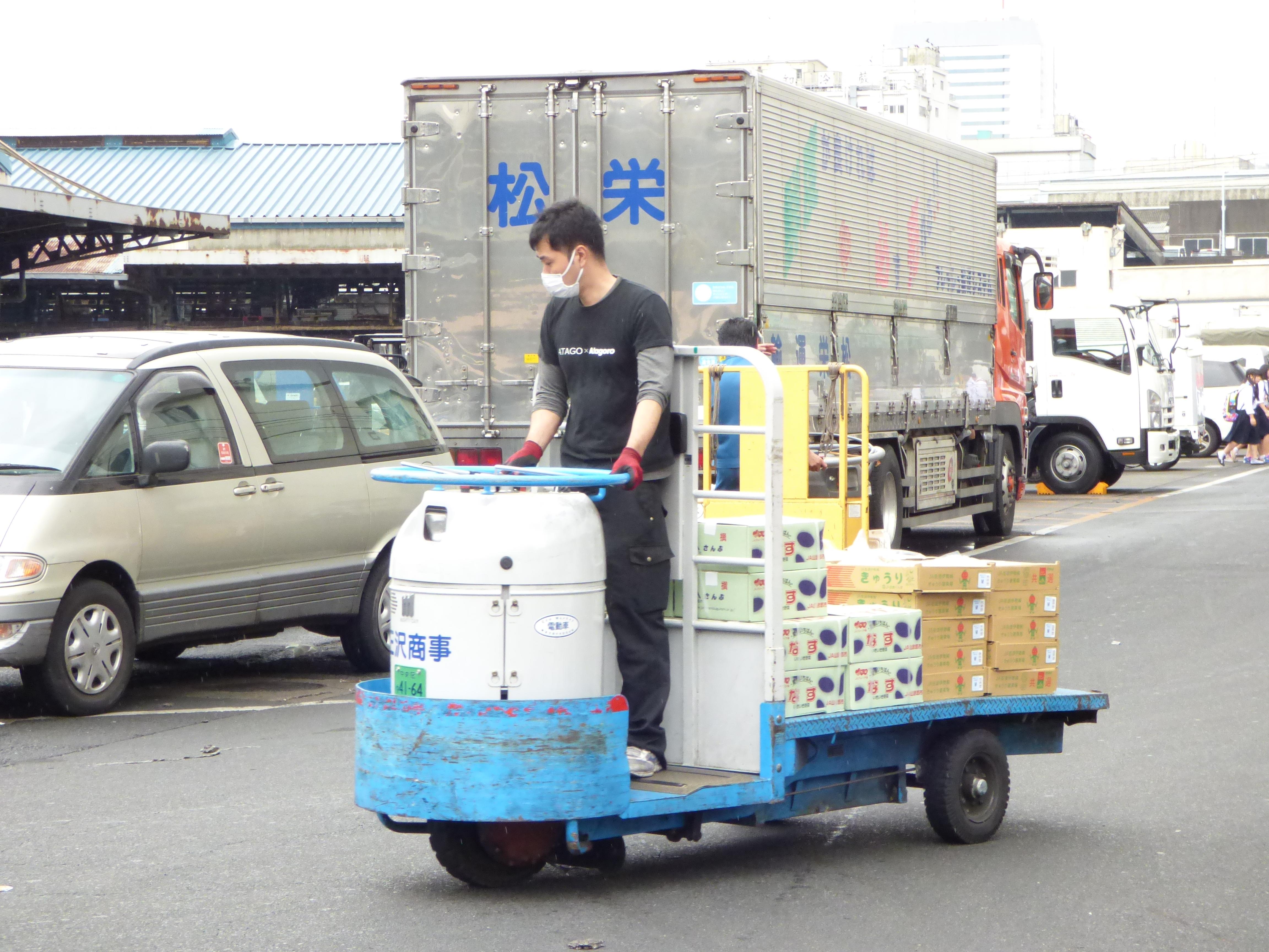 marché couvert tsukiji