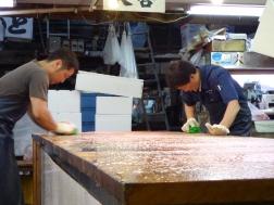 nettoyage plan travail tsukiji