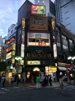 shinuku by night