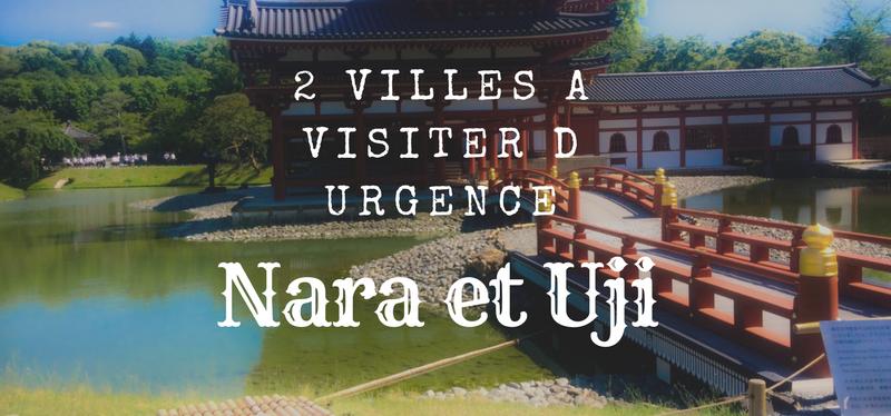 Jour 7 : Deux villes à visiter d'urgence : Nara la cité aux 1000 biches et Uji et son sompteux templeByodo-in