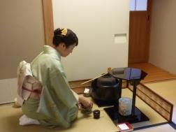 début cérémonie thé Ju An