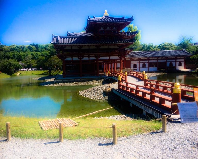 le temple byodoin uji