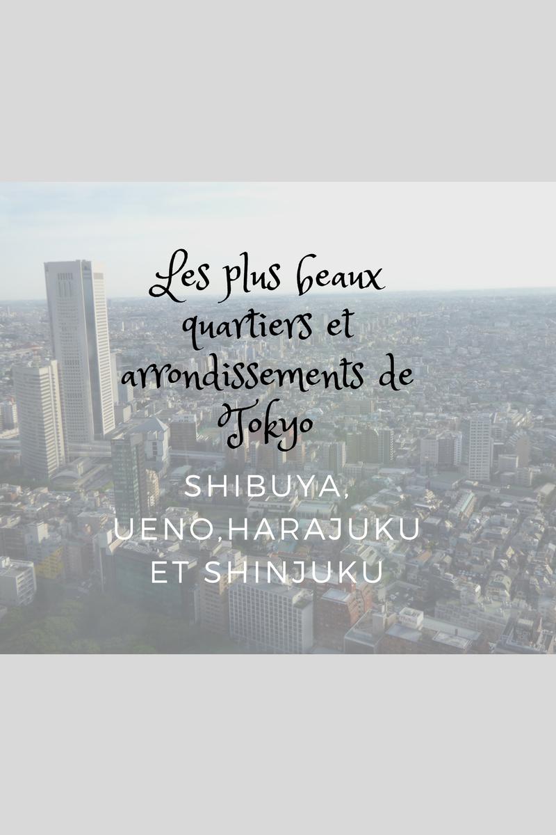Jour 2 à Tokyo : direction Shibuya, Harajuku, Ueno et Shinjuku!