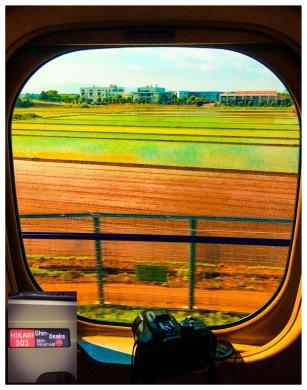 train sur la route pour kyoto
