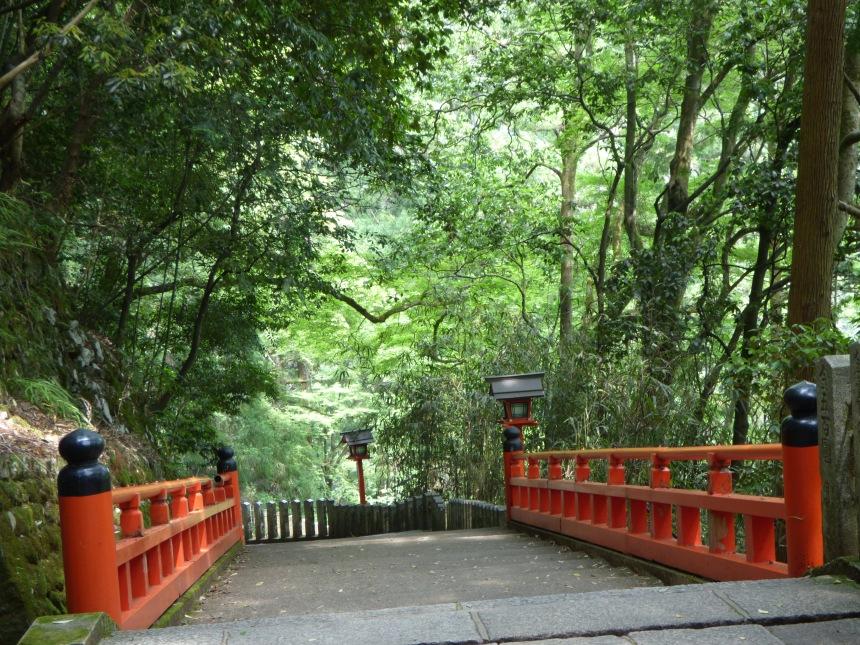 descente vers village de Kurama