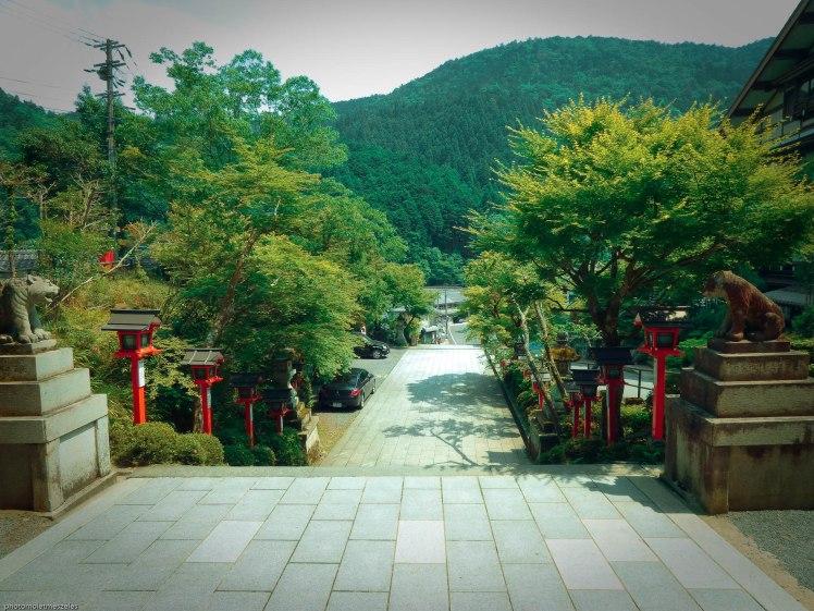 entrée Kurama dera temple