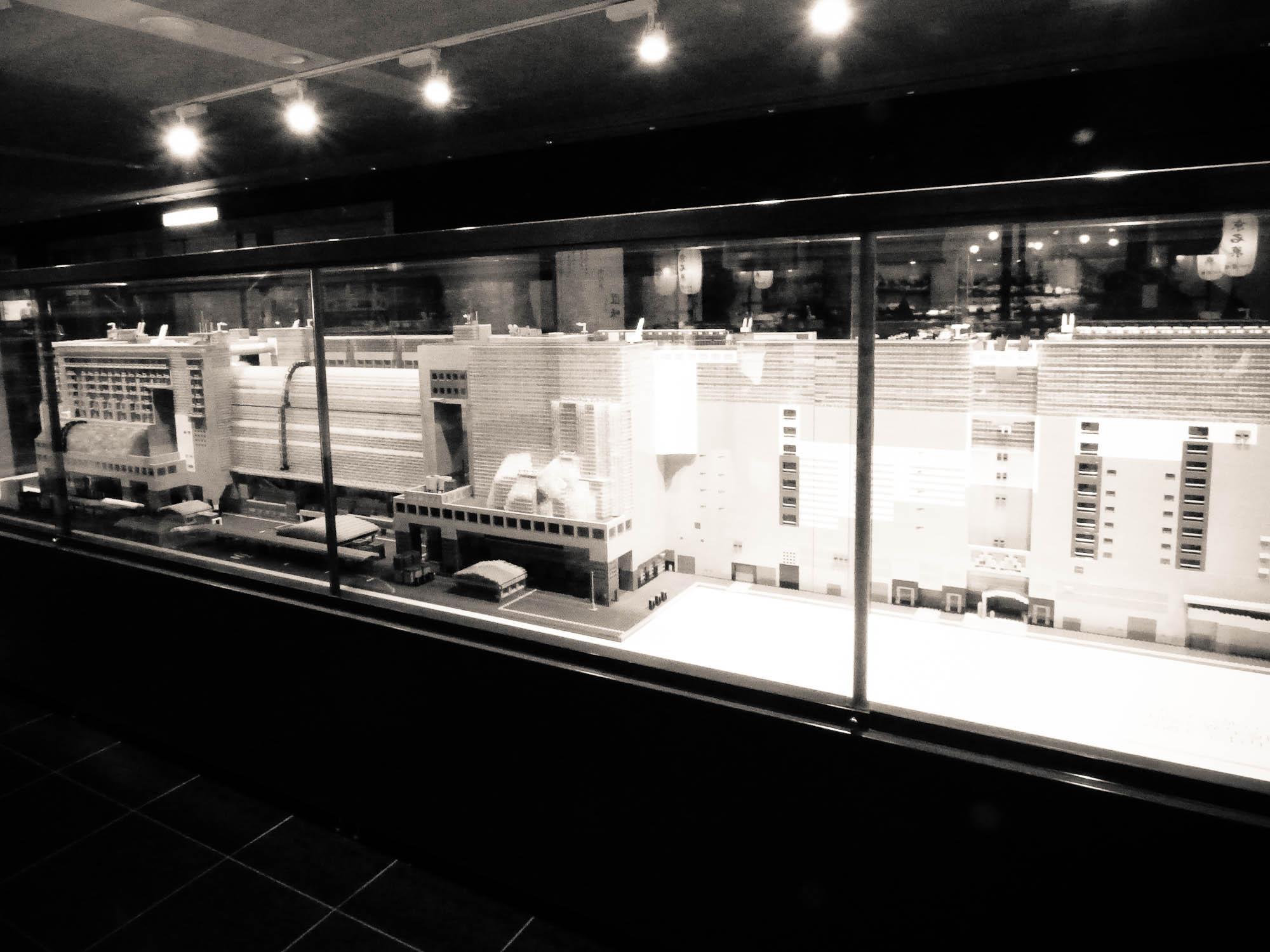 gare de kyoto en légos