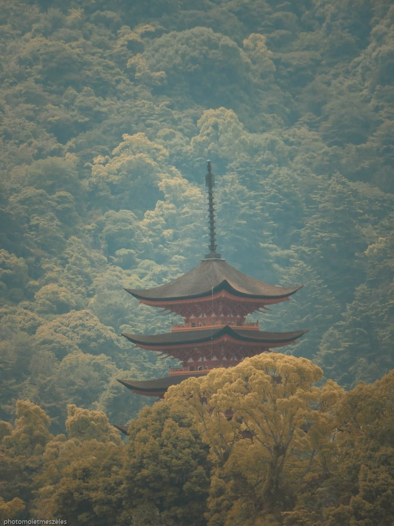 La pagode à 5 étages Gojunoto