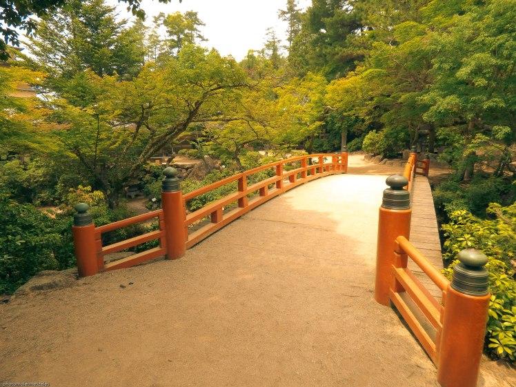 Pont rouge Ile Miyajima