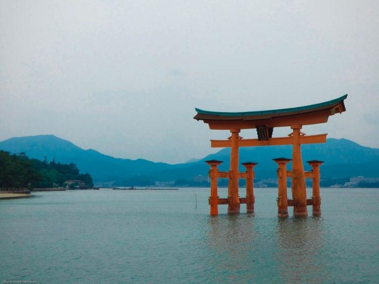 Torii flotant Ile de Miyajima