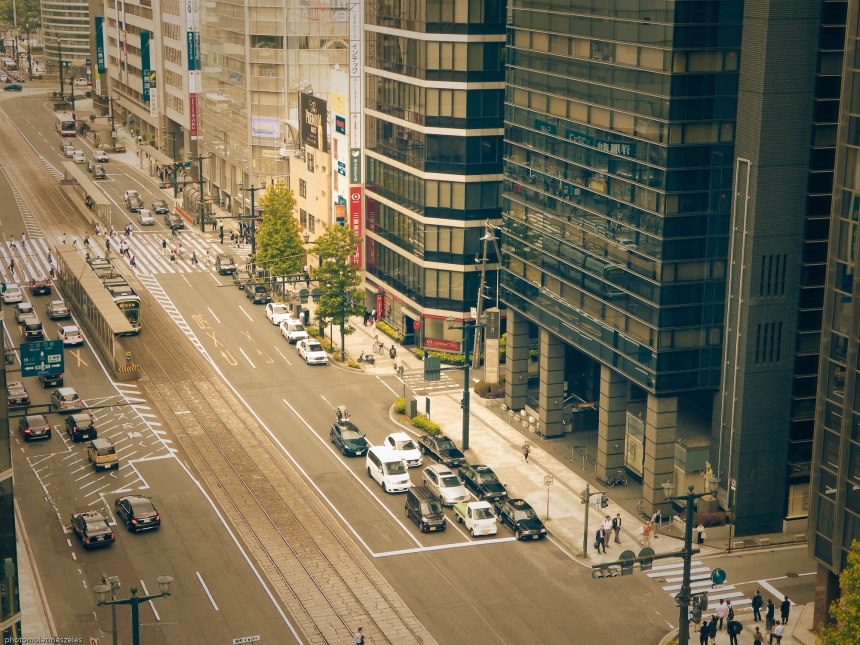 vue sur ville Hiroshima