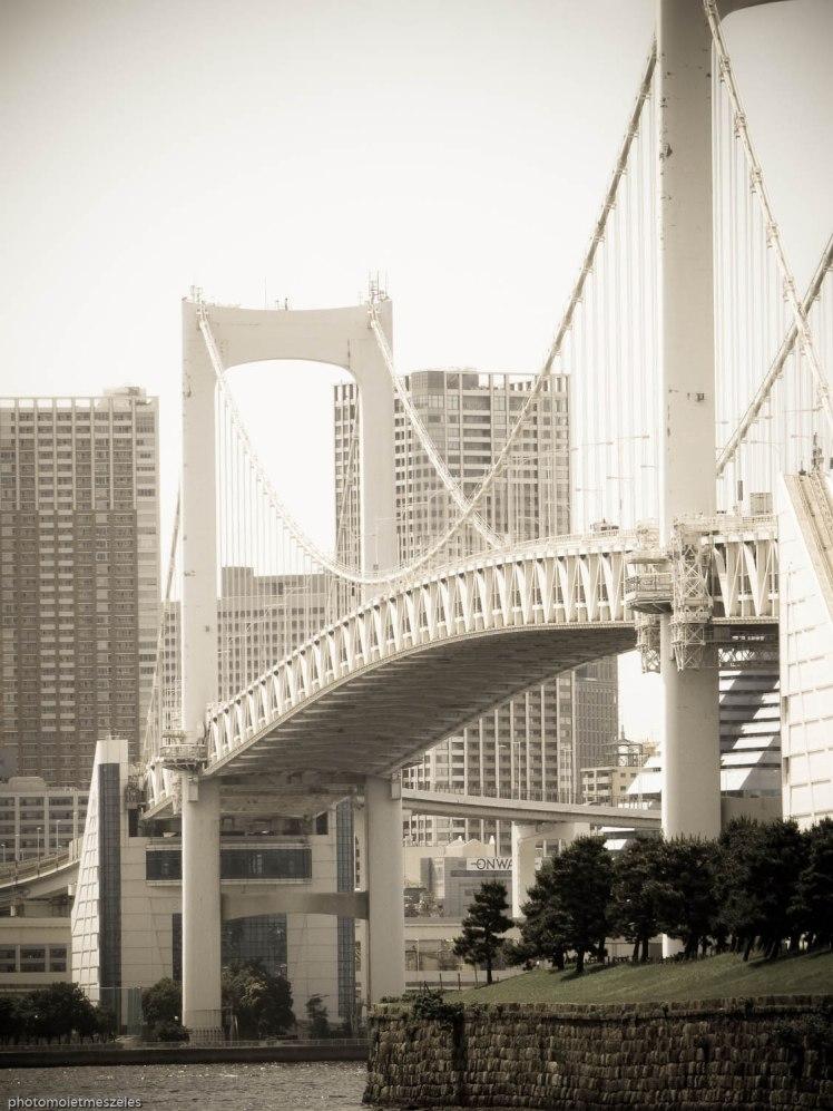 Bridge île d'Odaiba à Tokyo