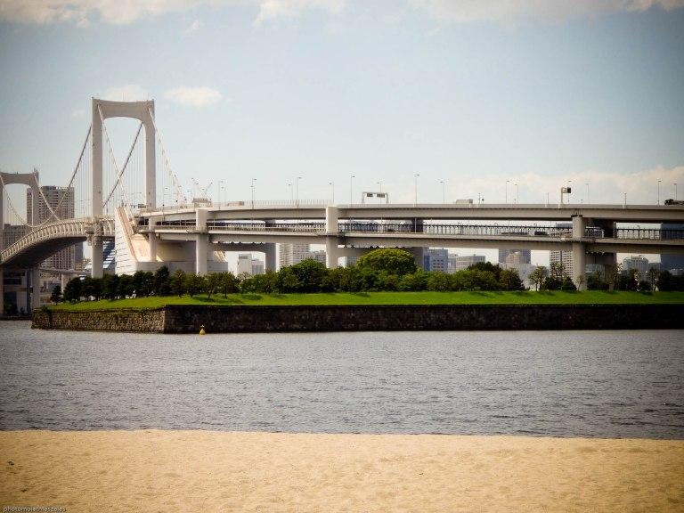 l'île d'Odaiba à Tokyo