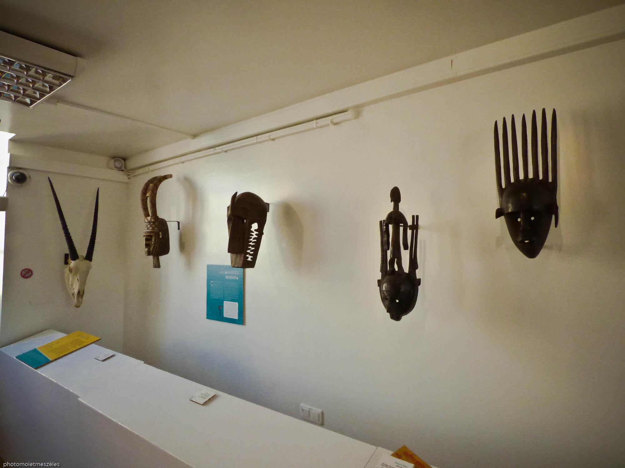 masques africains Musée d'histoire naturelle le Havre
