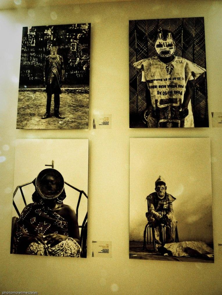 masques art contemporain africain musée d'histoire naturelle du Havre