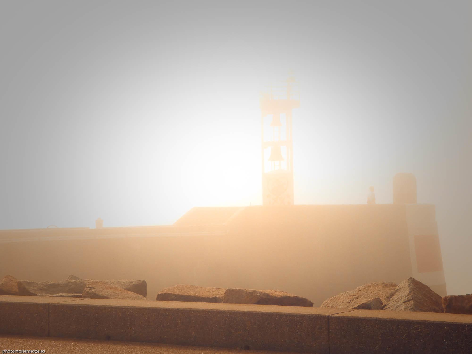 observatoire photographique du Havre sous la brume