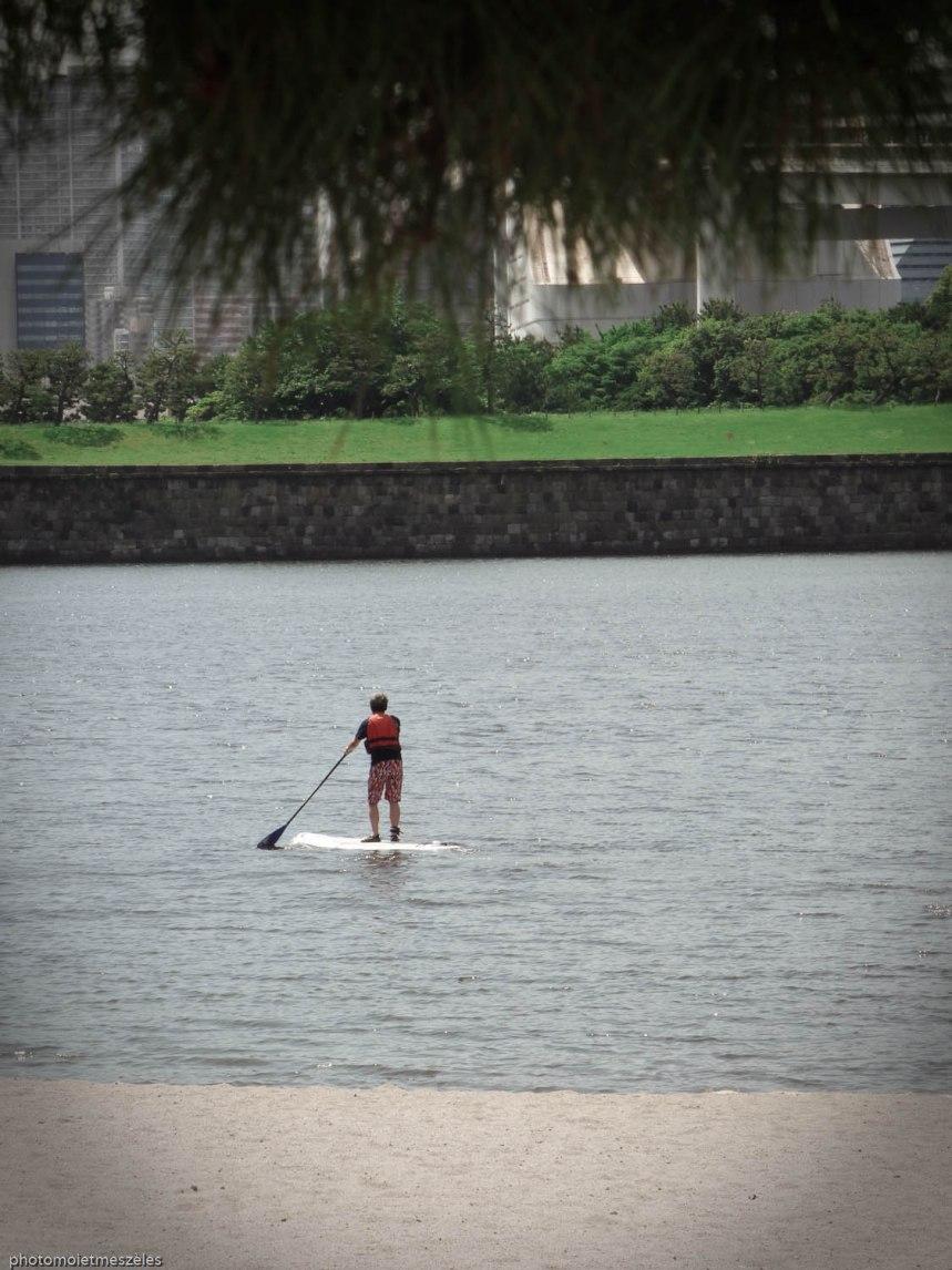 Paddle Ile d'Odaiba Tokyo