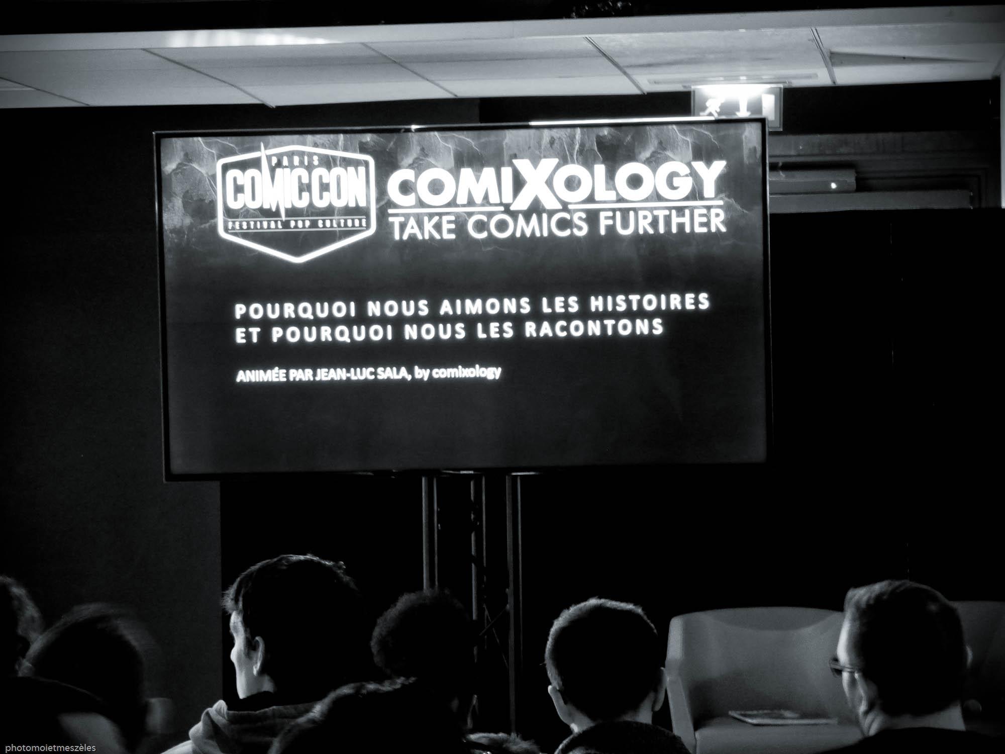 conférence Comic con paris 2017