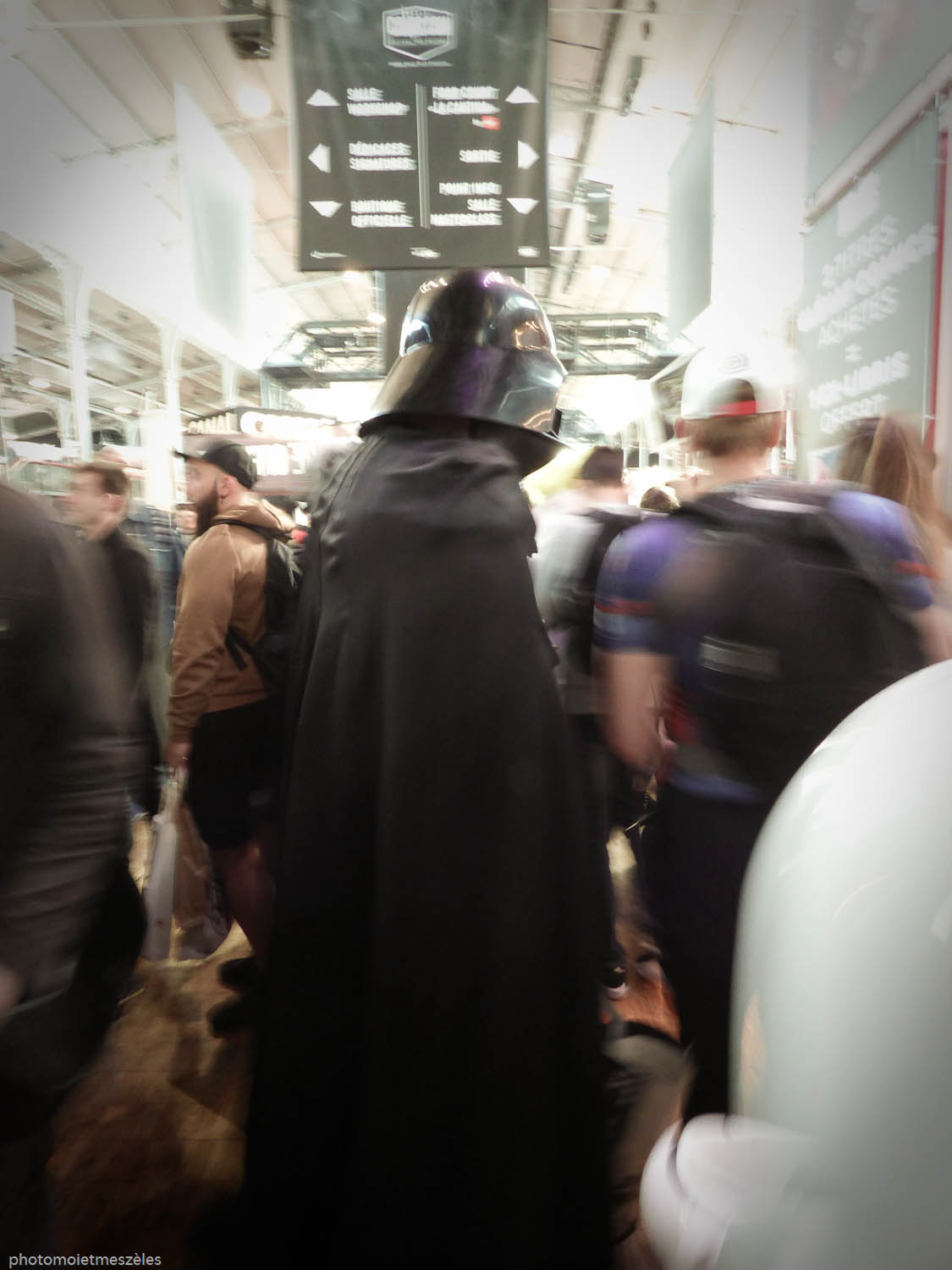 Dark vador Starwars comic con paris 2017