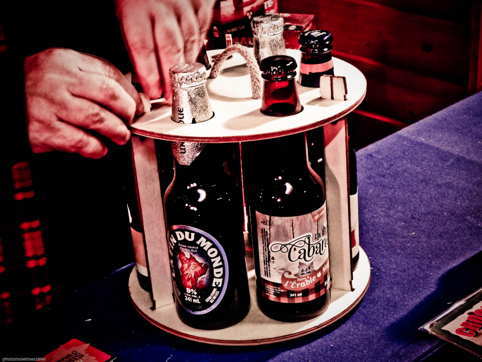 Découverte bières exposition Canada Le Havre