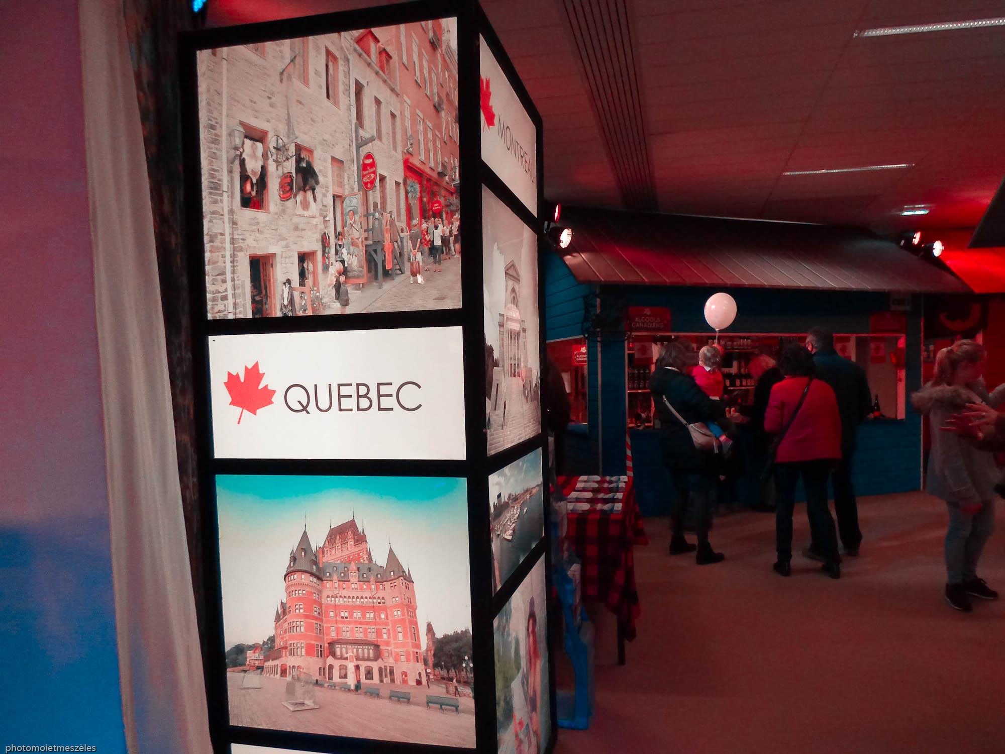 Découverte du Quebec et autres régions exposition Expérience Canada Le Havre