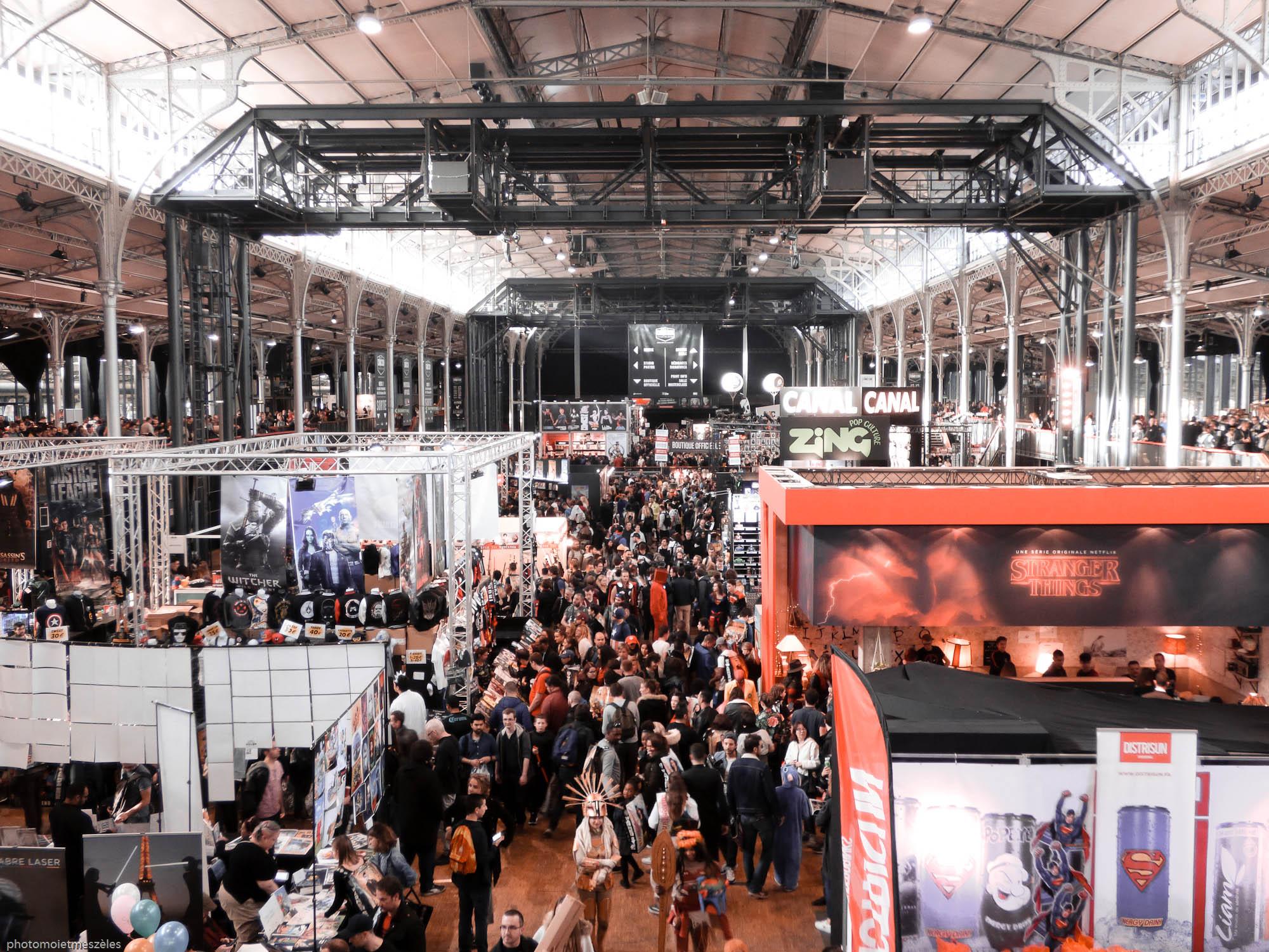 Salle Comic Con Paris 2017