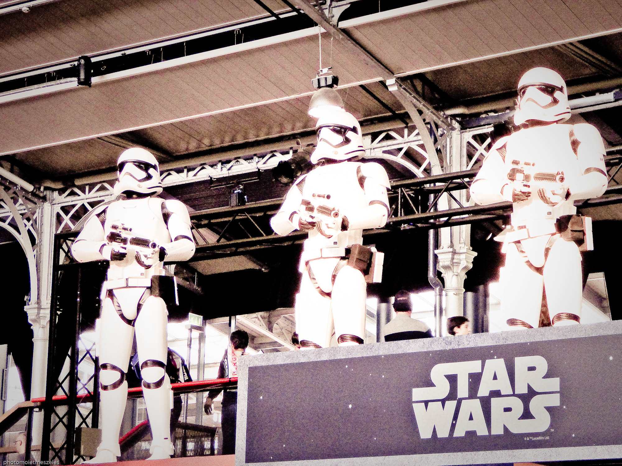 Star wars expo Paris 2017 Comic con
