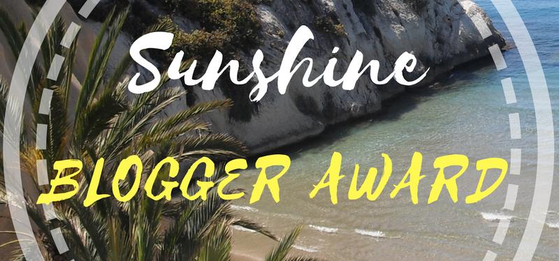 Ma nomination au Sunshine BloggerAward