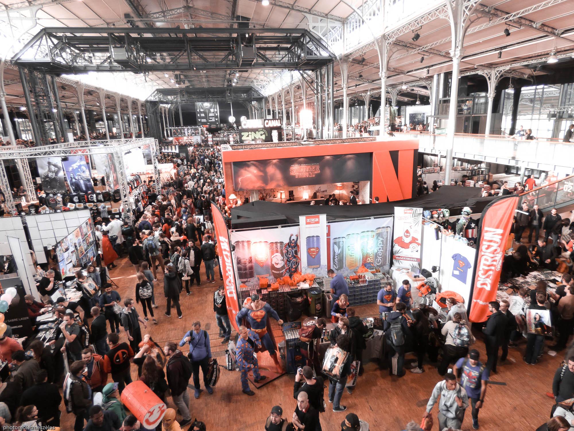 vue sur Comic con paris 2017