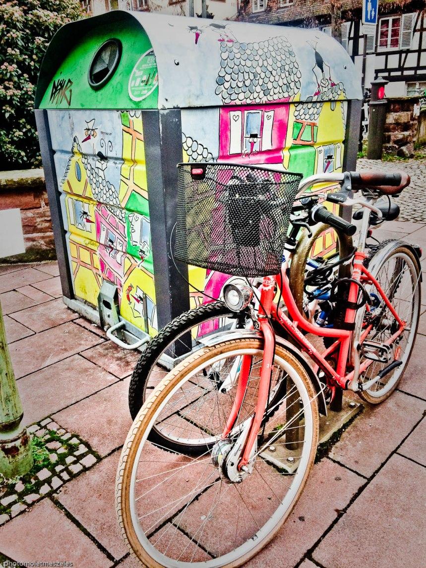 Création urbaine conteneur Strasbourg