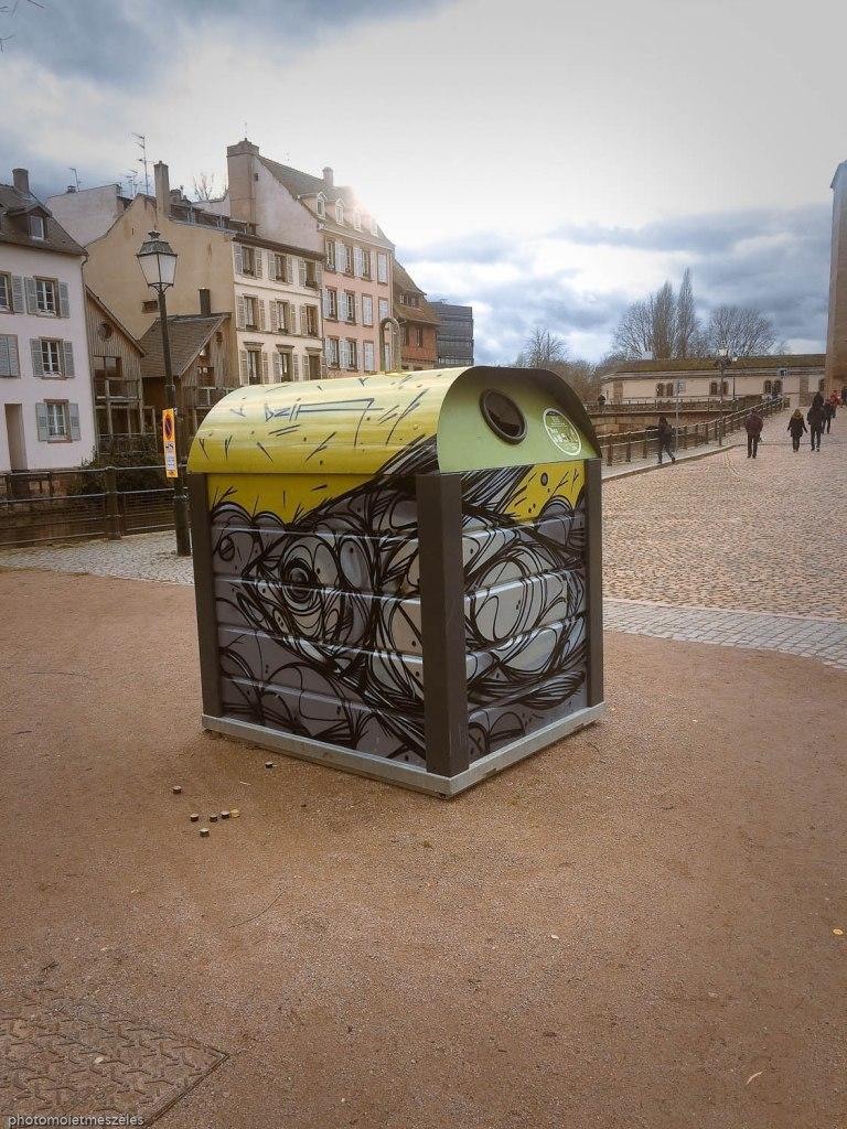 création urbaine conteneurs verre Strasbourg (2)