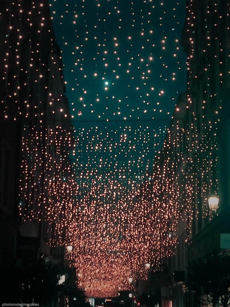 Illuminations de Noel Marché de Strasbourg