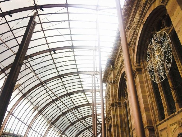 intérieur verrière gare strasbourg