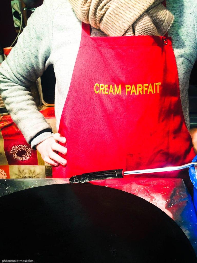 Marché de Noel petite France cream parfait