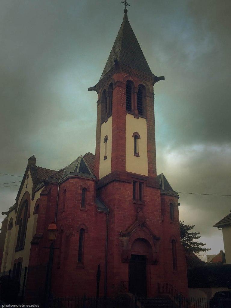 Obernai église protestante