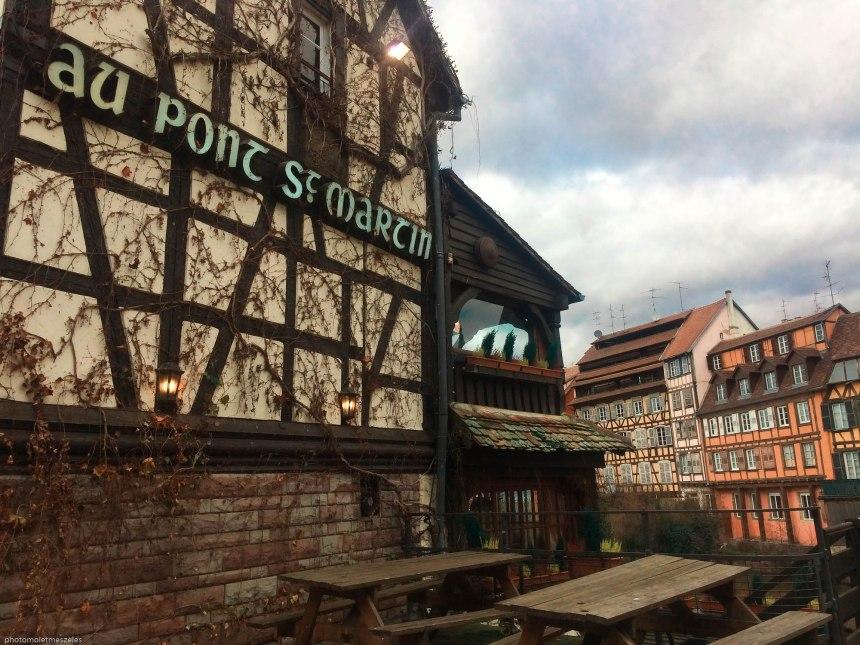 Restaurant Au pont St Martin Petite France Strasbourg