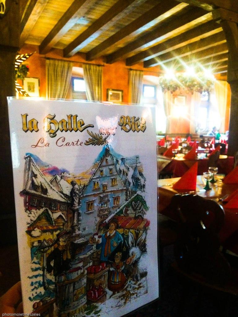 restaurant la Halle aux blés Obernai
