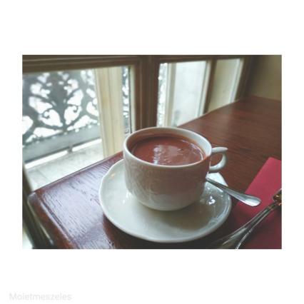 café pouchkine chocolat chaud Moscou