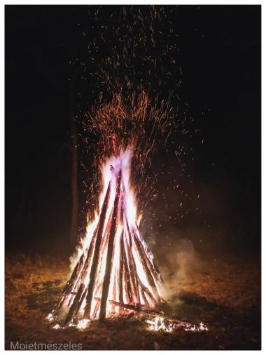 feu soirée réveillon noel wind of mongolia mongolie hiver