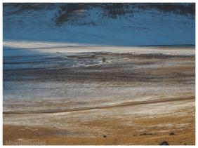 paysage mongol - mongolie hiver arkhangai